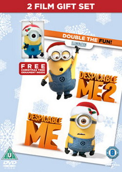 Despicable Me 1&2 With Christmas Ornament (DVD)