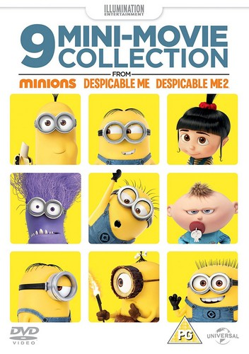 9 Mini-Movie Collection From Minions  Despicable Me 1 & 2 (DVD)
