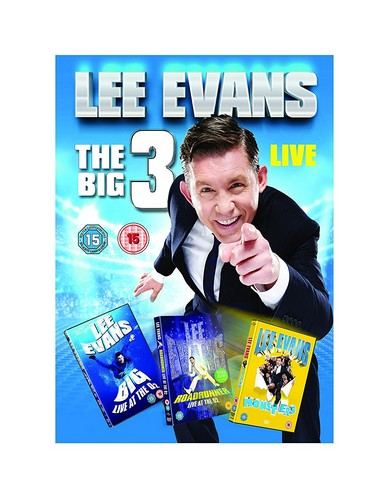 Lee Evans: The Big 3 Live (DVD)