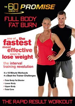 60 Second Promise : Full Body Fat Burn (DVD)