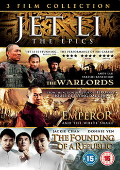Jet Li Boxset - The Warlords / Emperor And The White Snake / The Founding Of A Republic (DVD)