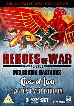 Heroes Of War Volume 3 - Inglorious Bastards / Cross Of Iron / Eagles Over London (DVD)