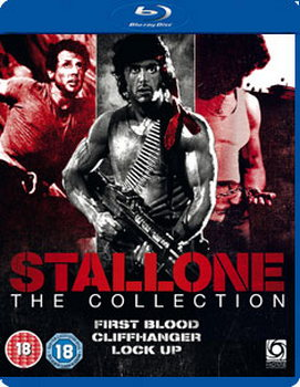 Stallone Triple - First Blood / Cliffhanger / Lock Up (BLU-RAY)