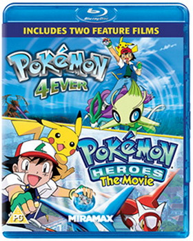 Pokemon Forever And Pokemon Heroes (Blu-Ray)