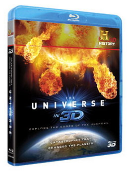 Universe In 3D -  Catastrophes That Changed The Planets (BLU-RAY)
