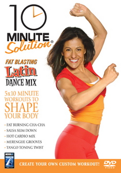 10 Minute Solution - Fat Blasting Latin Dance Mix (DVD)