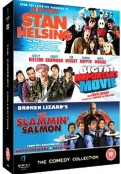 Comedy Collection (Stan Helsing / Big Fat Important Movie / Slammin Salmon) (DVD)
