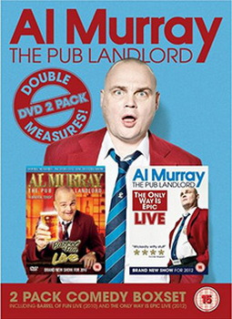 Al Murray - Pub Landlord Live 1 & 2 (DVD)