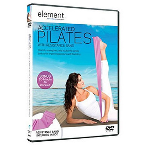 Element: Accelerated Pilates With Resistance Band (DVD)