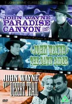 3 John Wayne Classics - Paradise Canyon Dawn Rider Desert Trail (DVD)