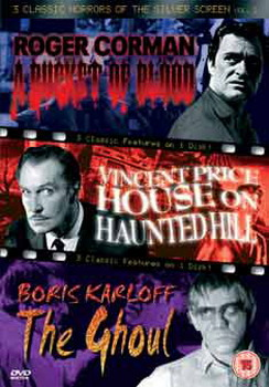 3 Classic Horrors Of The Silver Screen - Vol. 2 (DVD)