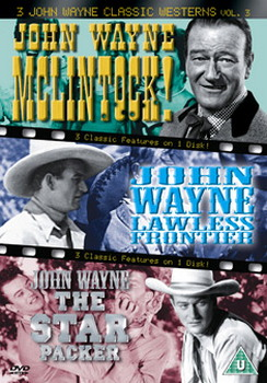 3 John Wayne Classics - Vol. 3 - Mclintock / Lawless Frontier / The Star Packer (DVD)