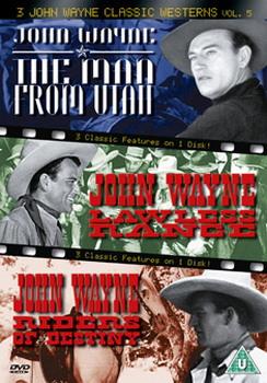 3 John Wayne Classics - Vol. 5 - The Man From Utah / Lawless Range / Riders Of Destiny (DVD)