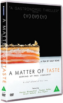 A Matter Of Taste - Serving Up Paul Liebrandt (DVD)