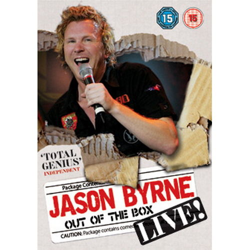Jason Byrne - Out Of The Box (DVD)