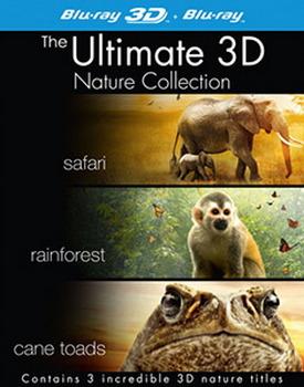 Nature Boxset - Safari / Rainforest / Cane Toads (3D) (BLU-RAY)
