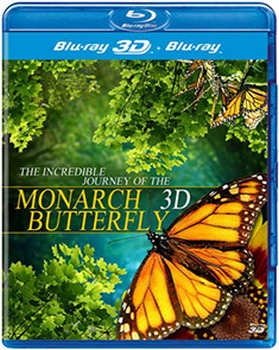 Incredible Journey Of The Monarch Butterfly (BLU-RAY)