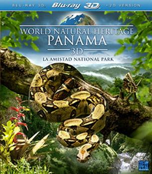 World Natural Heritage - Panama (3D Blu-ray + Blu-Ray)