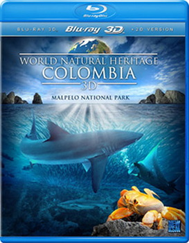 World Natural Heritage - Columbia (3D Blu-Ray + Blu-Ray)