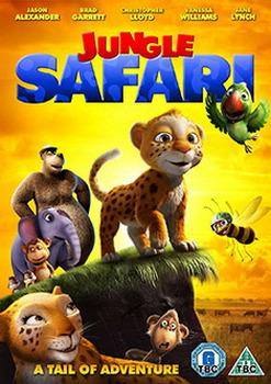 Jungle Safari 3D (3D Blu Ray + Blu Ray)