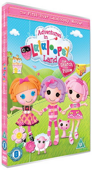 Adventures In Lalaloopsy Land: The Search For Pillow (Including Double Sided Poster) (DVD)