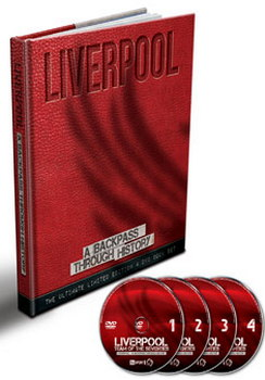 Liverpool - A Backpass Through History - Book And Dvd Set (DVD)