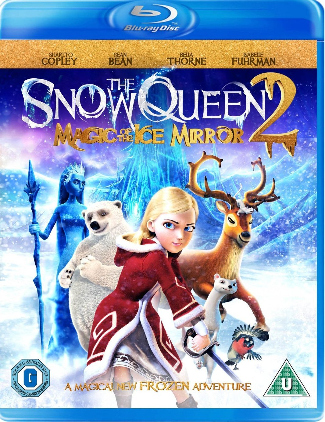 The Snow Queen: Magic Of The Ice Mirror (BLU-RAY)