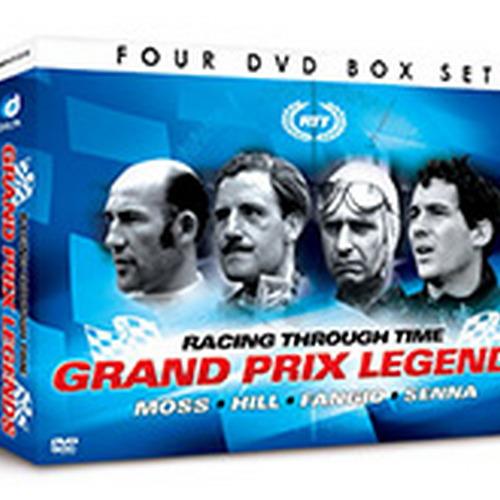 Racing Through Time - Grand Prix Driving Legends (DVD)