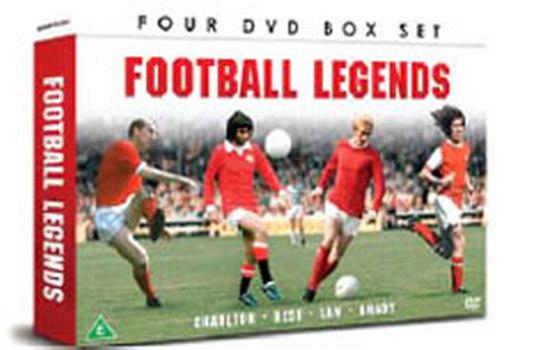 Football Legends - Best / Brady / Charlton & Law Gift Set (DVD)