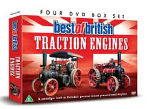 Best Of British Tractions Engines (DVD)
