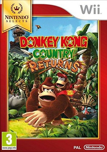 Donkey Kong Country Returns (Selects) (Wii)