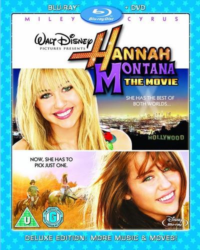 Hannah Montana - The Movie (Blu-Ray and DVD) (Disney)