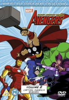 Avengers - Earth'S Mightiest Heroes Volume 2 (DVD)