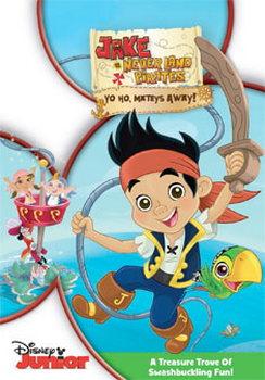 Jake And The Never Land Pirates: Yo Ho  Mateys Away! (DVD)