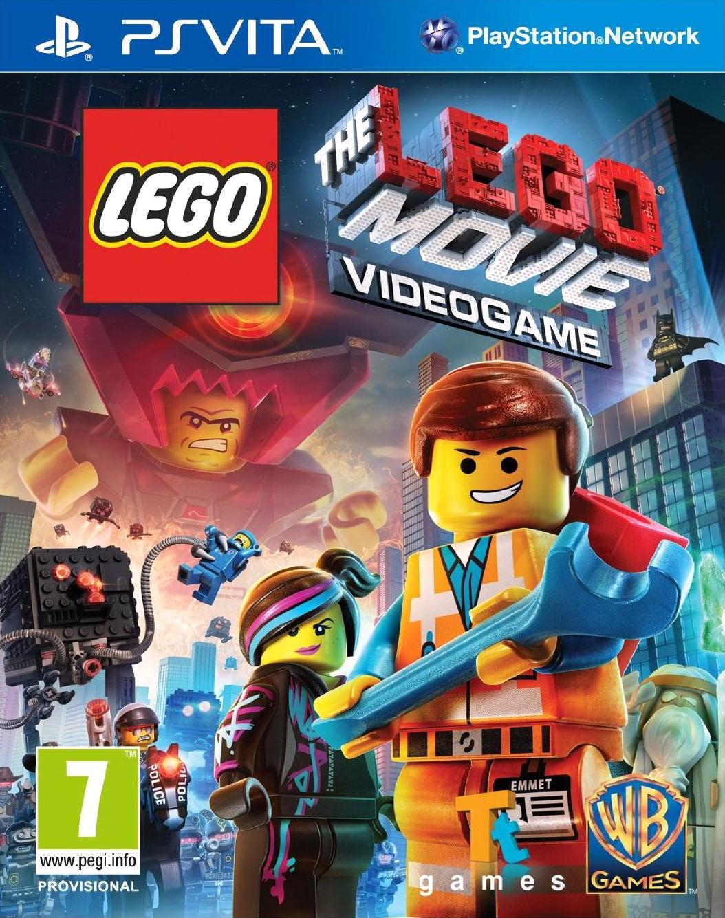 Lego Movie: The Videogame (Vita)