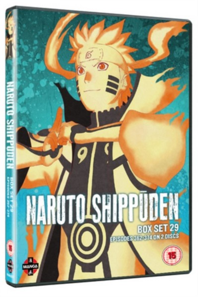 Naruto Shippuden Box 29 (Episodes 362-374) (DVD) :: Japanese Anime