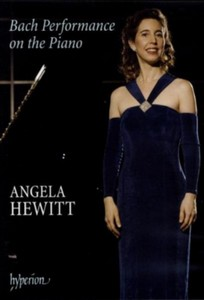 Angela Hewitt - Bach Performance On The Piano (DVD)