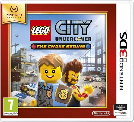 LEGO City Undercover The Chase Begins Selects (Nintendo 3DS)