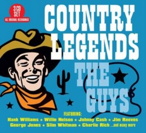 Various Artists - Country Legends - The Guys (Music CD)