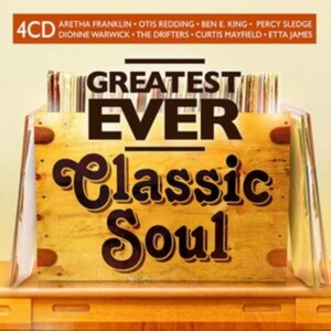 Various Artists - Greatest Ever Classic Soul (Music CD Boxset)