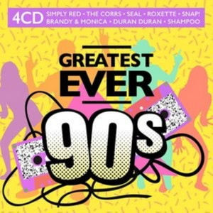 Various Artists - Greatest Ever 90s (Music CD)