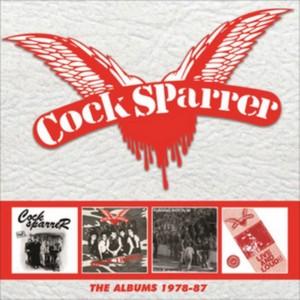 COCK SPARRER - THE ALBUMS 1978-87: 4CD CLAMSHELL BOXSET Box set