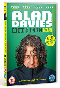 Alan Davies - Life Is Pain: Live In London (DVD)