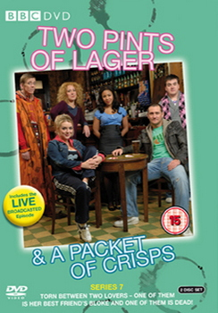 Two Pints Of Lager And A Packet Of Crisps - Series 7 (DVD)