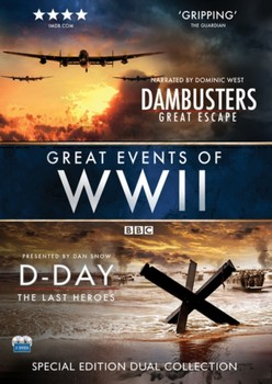 Great Events of WWII  (D-DAY: The Last Heros & Dambusters: Great Escape) [DVD]