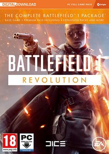 Battlefield 1 Revolution (PC DVD)