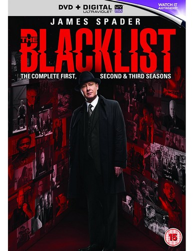 The Blacklist - Series 1- 3 (DVD)