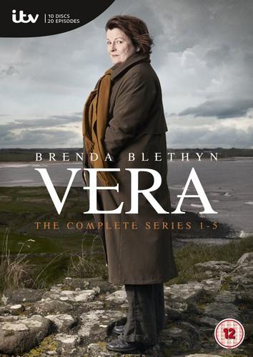 Vera Complete Series 1-5 [2015] (DVD)
