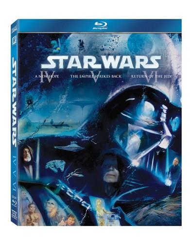 Star Wars: The Original Trilogy (Episodes IV-VI) (Blu-ray)