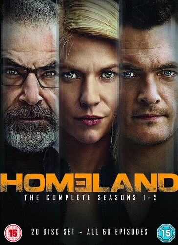 Homeland - Season 1-5 (DVD)